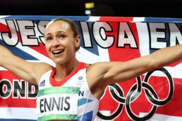 Silver lining: Jessica Ennis was one of many athletes who was beaten into second place at a major championship by a doper. Image: PhotoRun